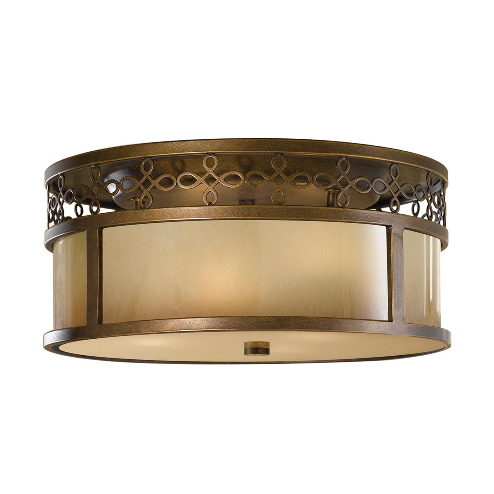 Starodawna lampa sufitowa JUSTINE