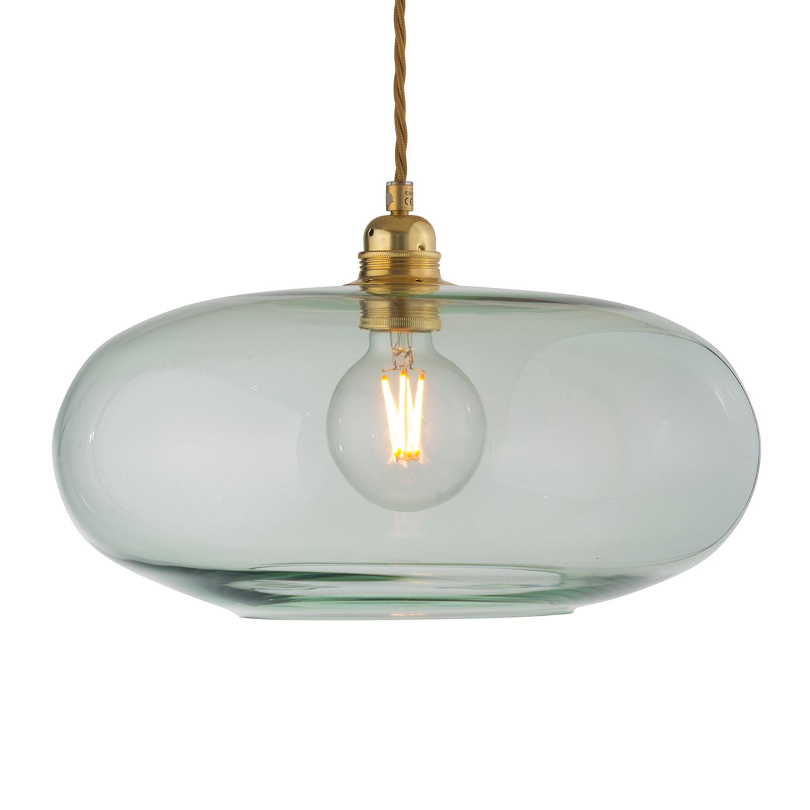 EBB & FLOW Horizon glas-hanglamp groen Ø 36 cm