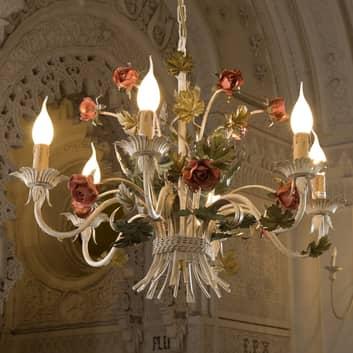 Nobel ANCONA lysekrone med roser