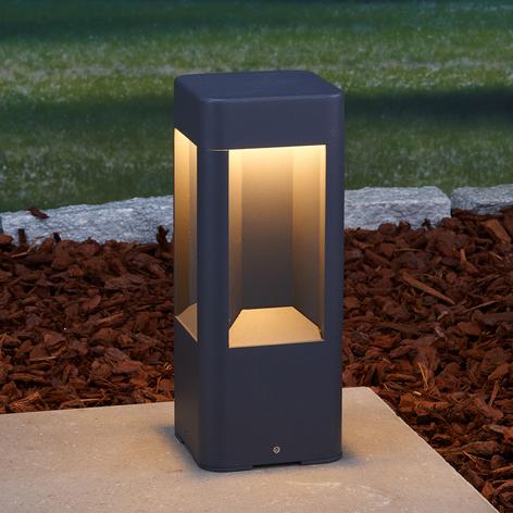 LED-Sockelleuchte Annika aus Aluminium, 30 cm