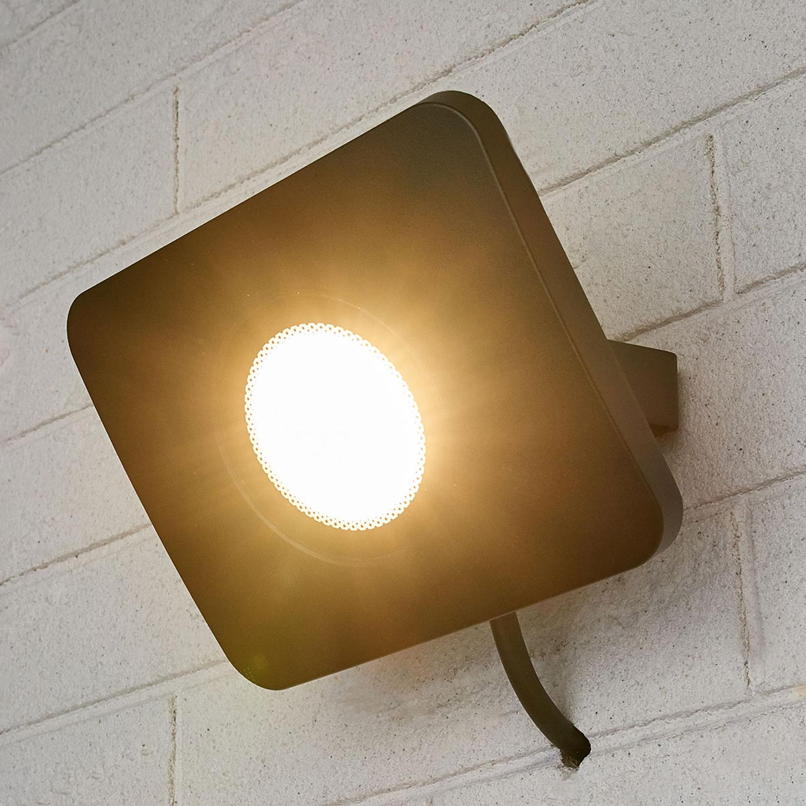 LED-uteveggspot Duke i aluminium, 30W
