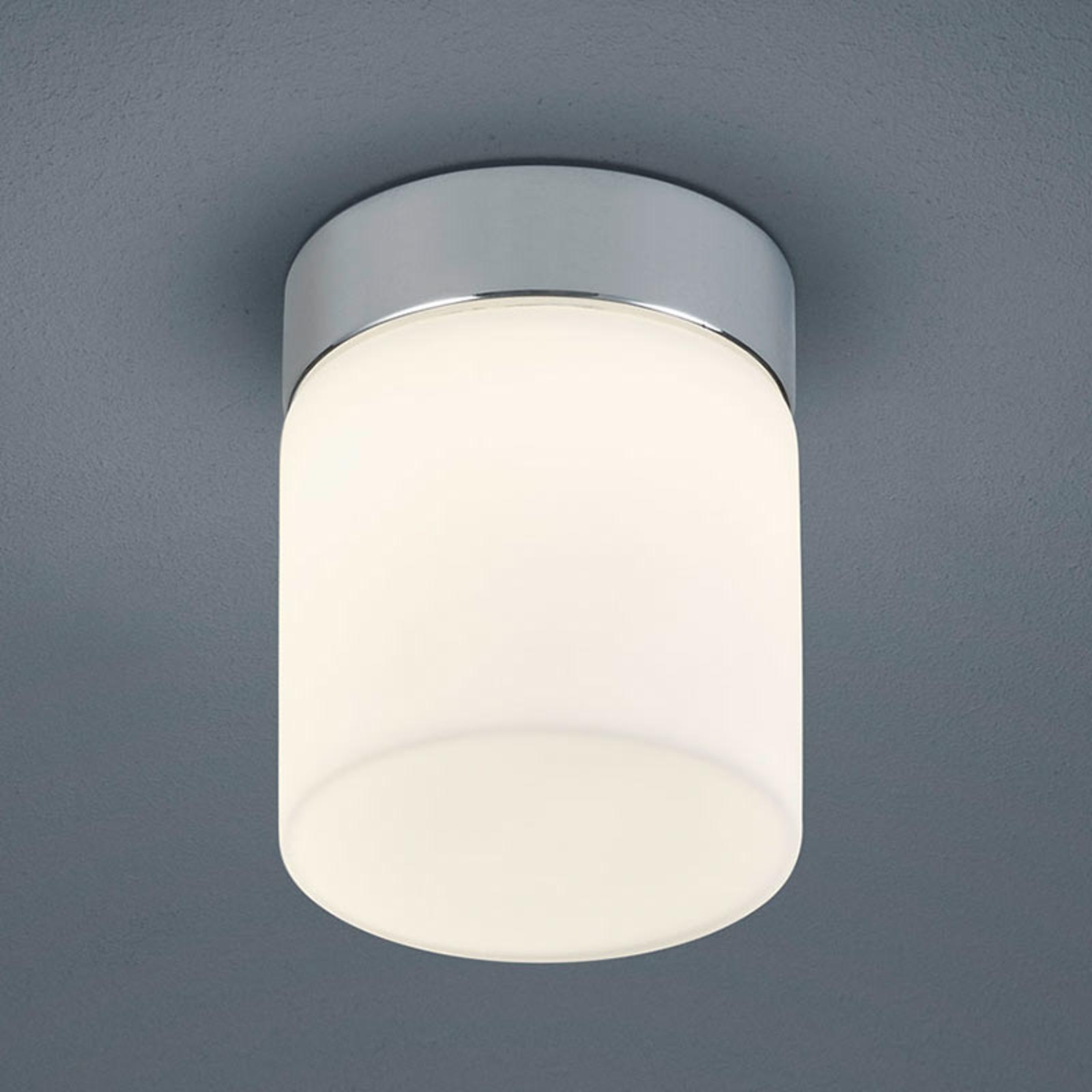 Helestra Keto - LED-loftlampe til badet, cylinder