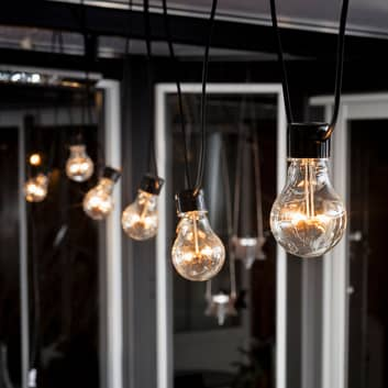 LED-valoketju Biergarten perussetti, meripihka