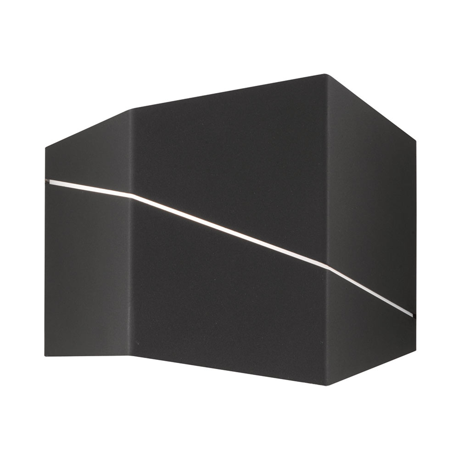 Acquista Zorro - moderna applique LED in nero opaco