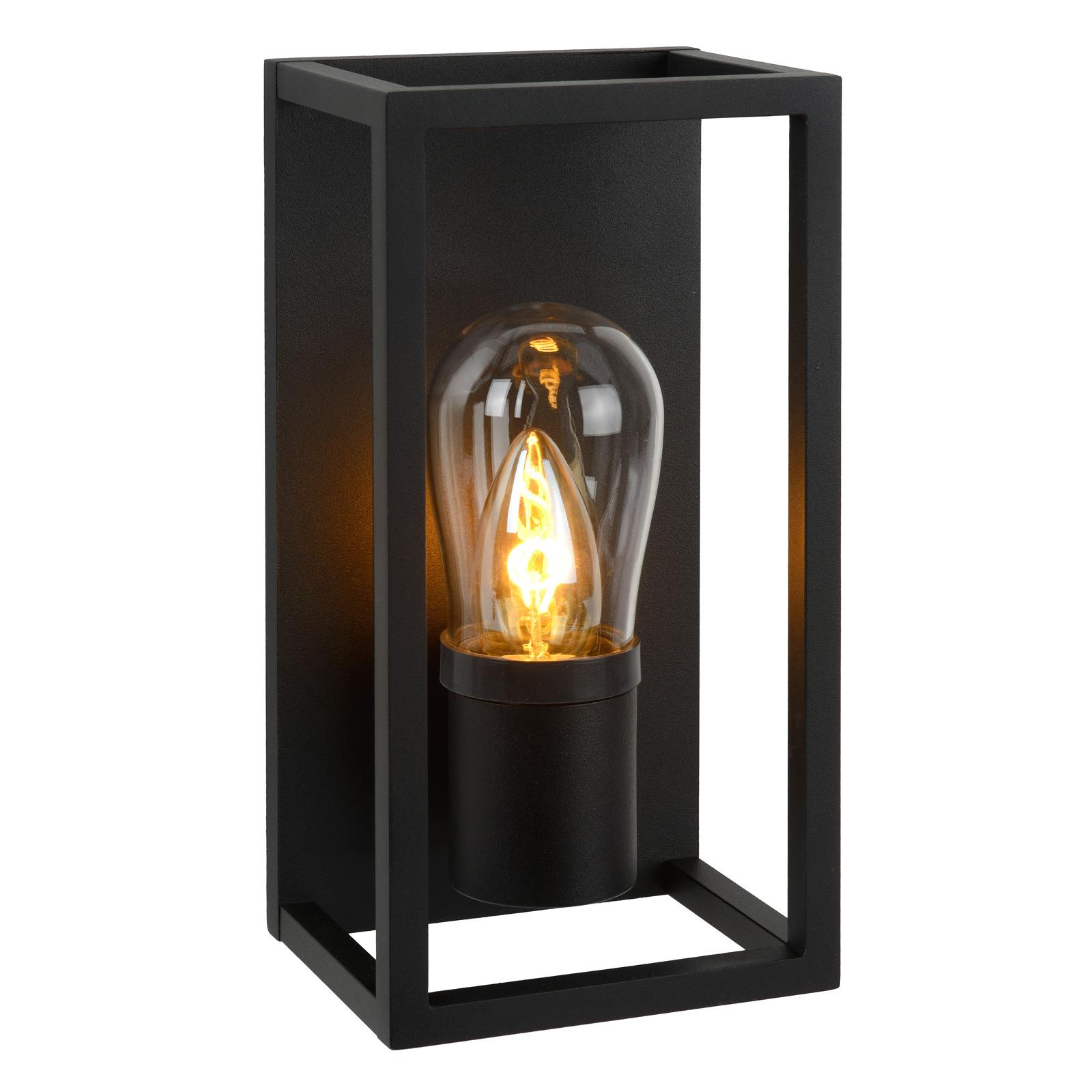 Wandlamp Carlyn badkamer zwart