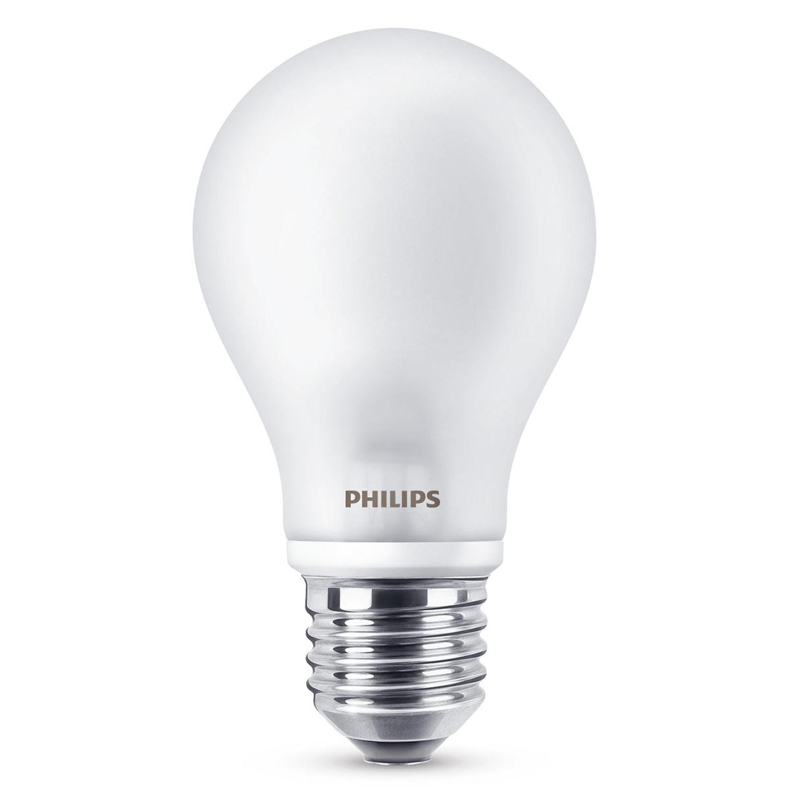 E27 A60 LED-pære 7W, 2.700 K, mat