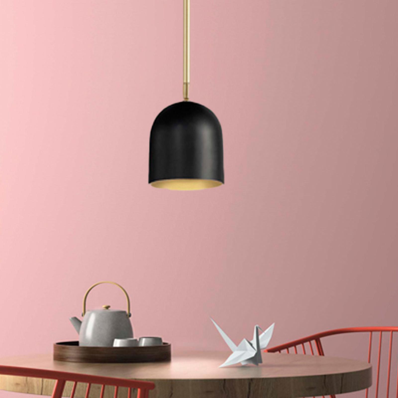 Dome LED-hængelampe, kan drejes 360°, 1 lyskilde