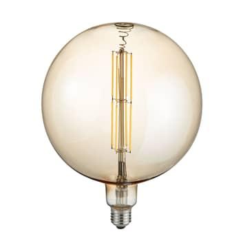 LED-Globelampe E27 8W 2.700K amber