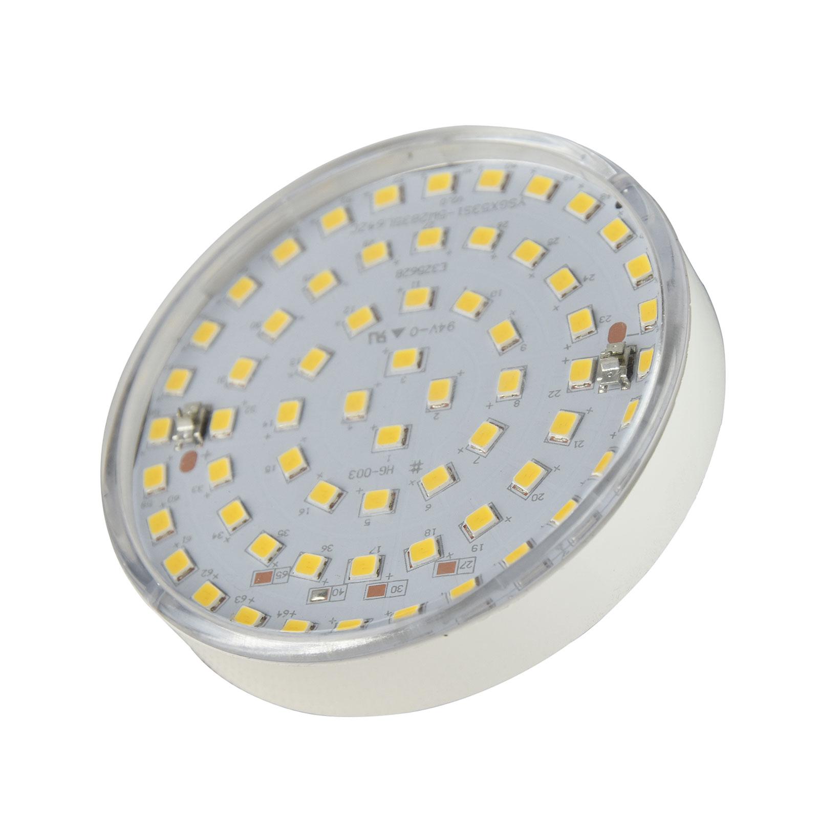 Heldere GX53-ledlamp Micro-Lynx Sylvania, 3W, 830