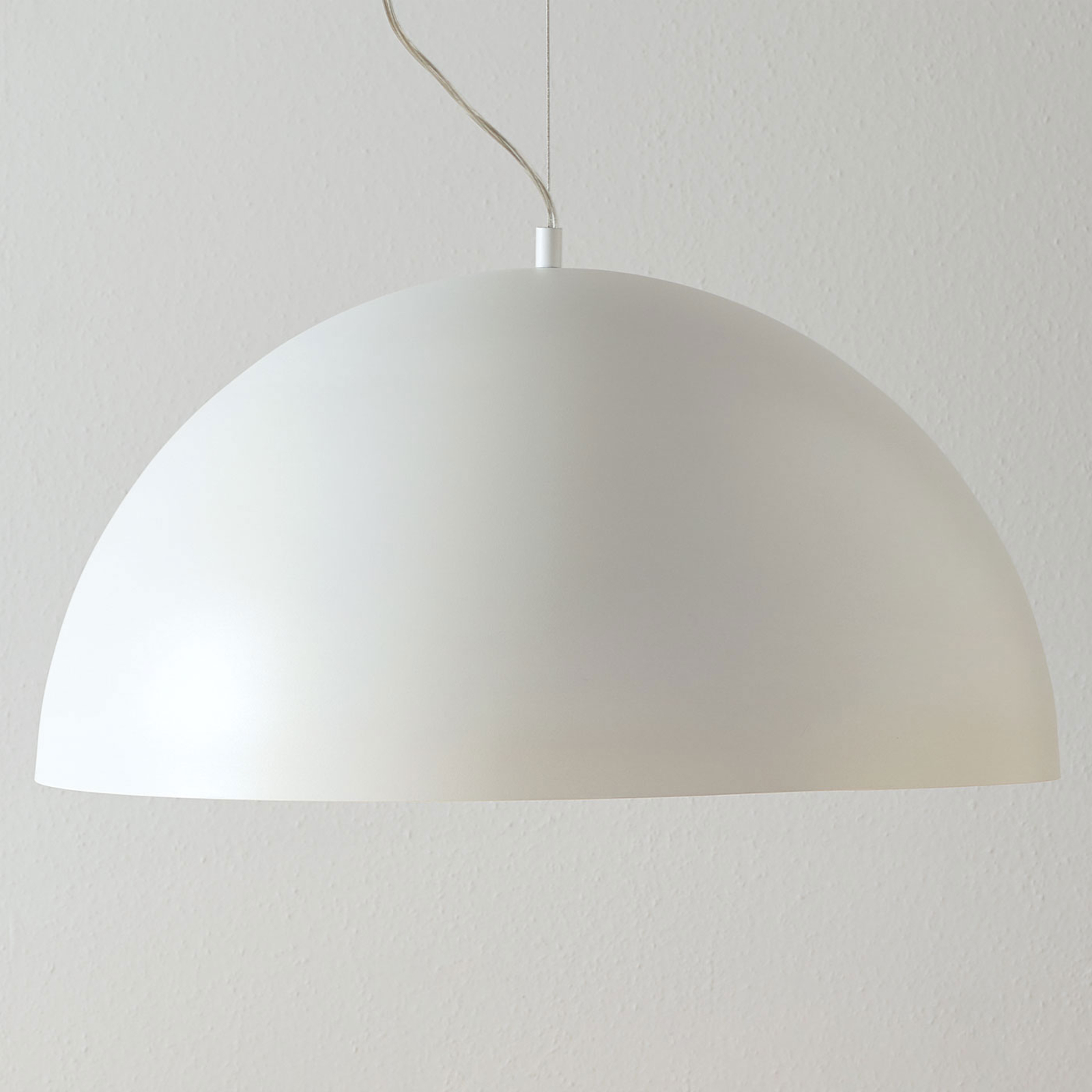 Lucande Maleo lampa wisząca 65cm biała