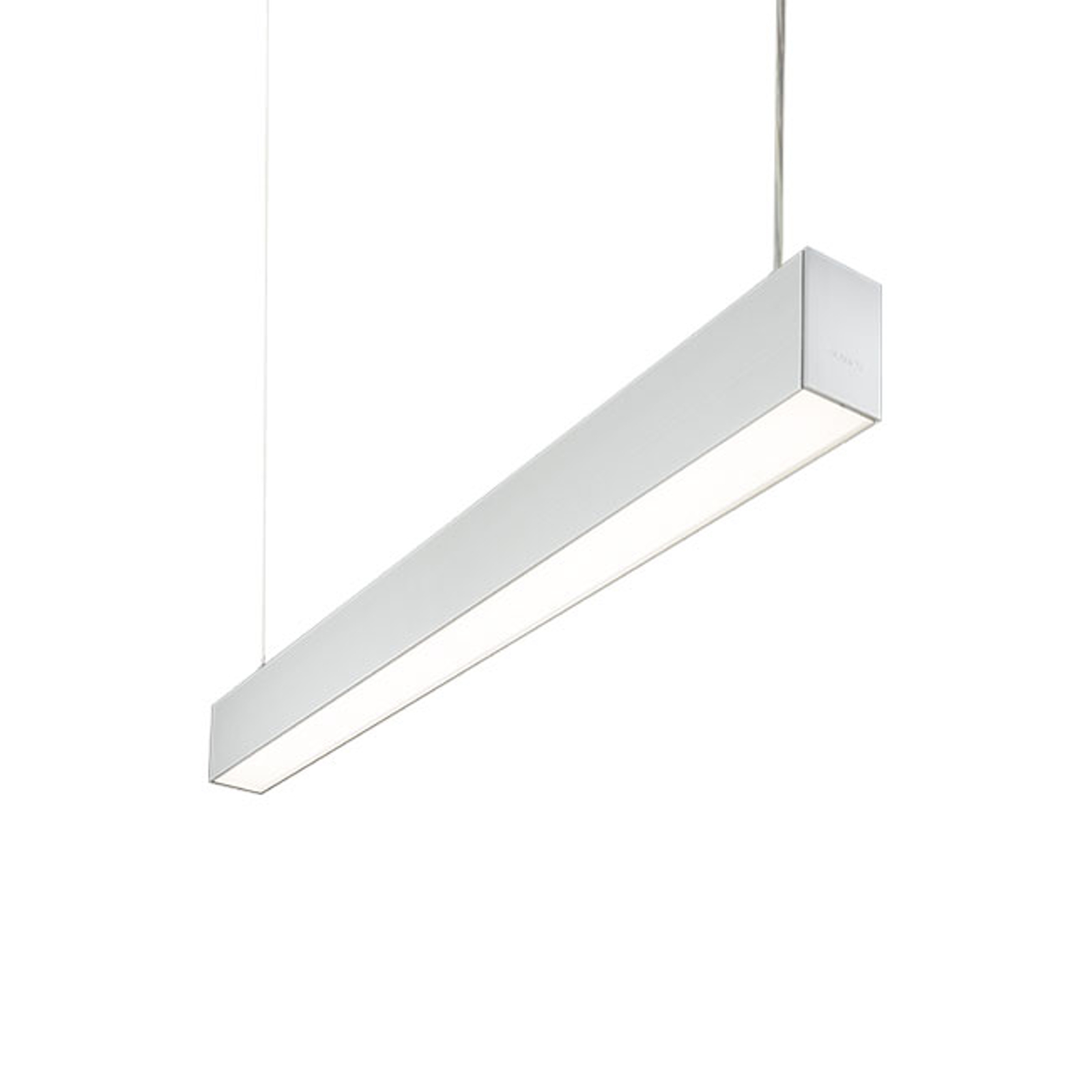 Hanglamp C80-P1702 zilvergrijs 50/50 4.000 K