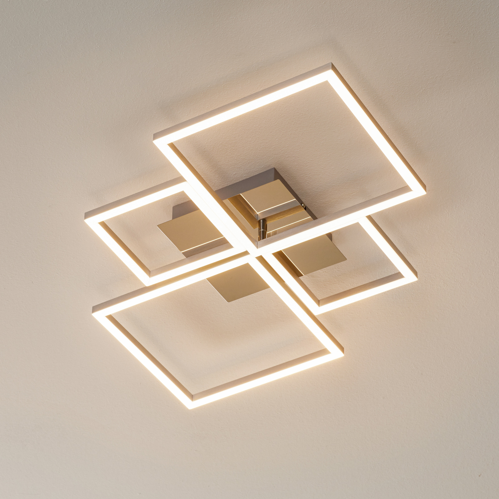 3128-018 LED-loftlampe, kan dæmpes via vægkontakt