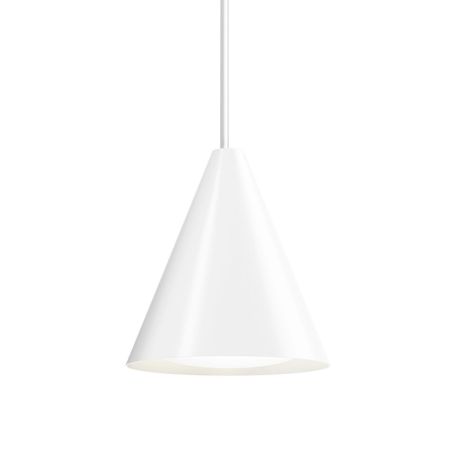 Louis Poulsen Keglen LED hanglamp 25cm wit