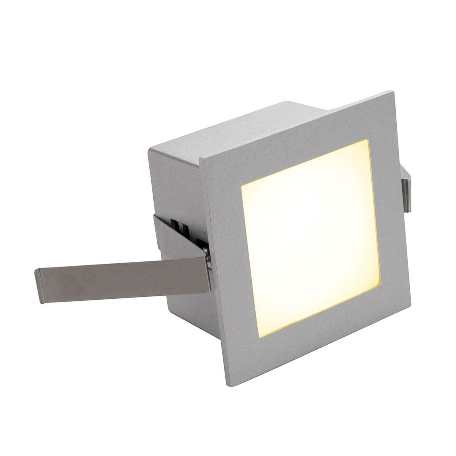 SLV luce LED da incasso Frame Basic 3.000K argento