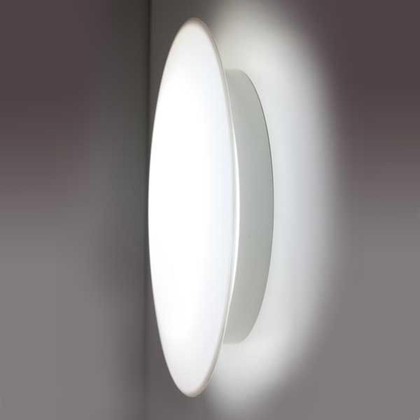Lámpara LED SUN 3 futurista en color blanco, 8W 3K