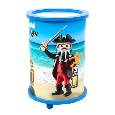 Tischleuchte 25/15 PLAYMOBIL Pirates