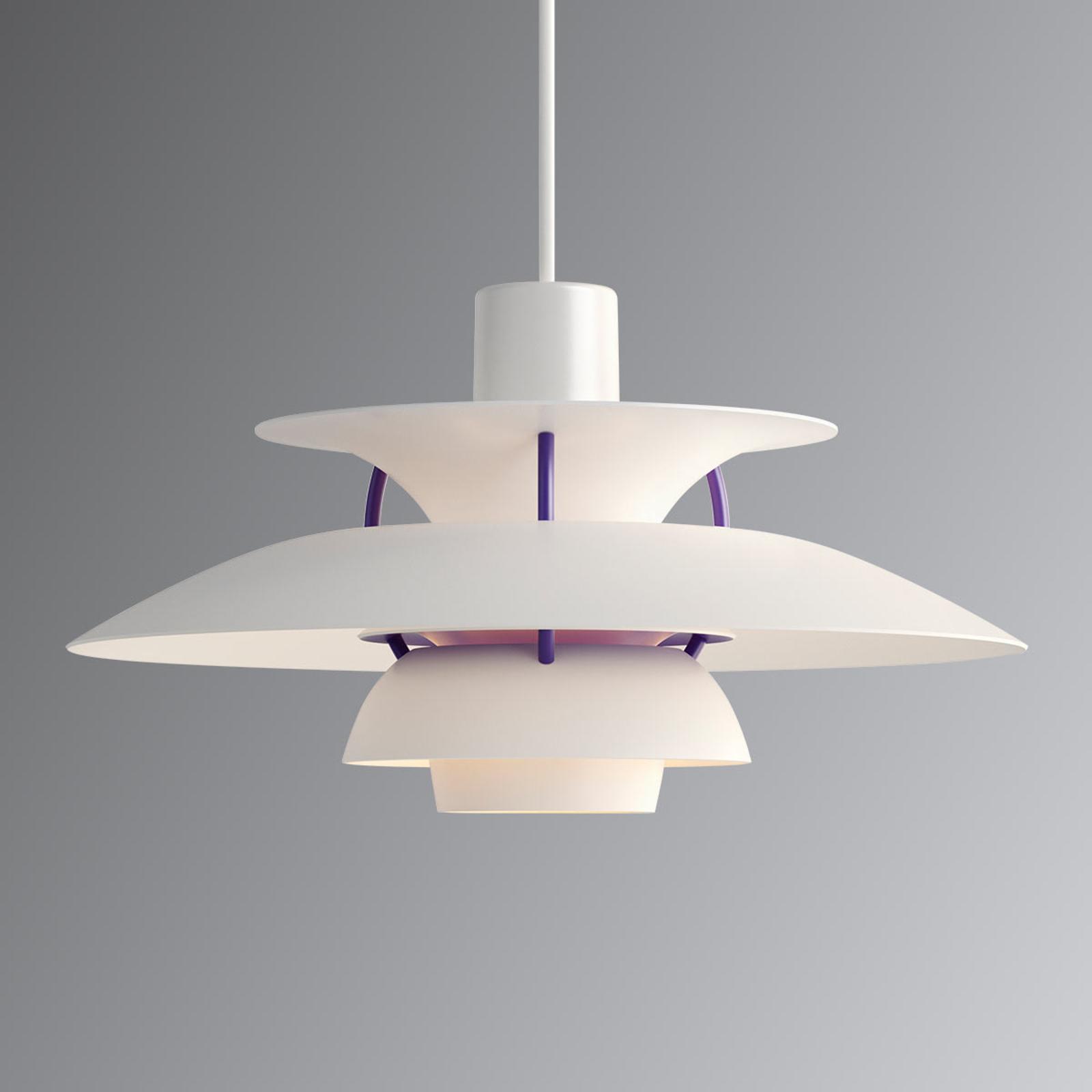 PH 5 Mini - designer hanglamp wit klassiek