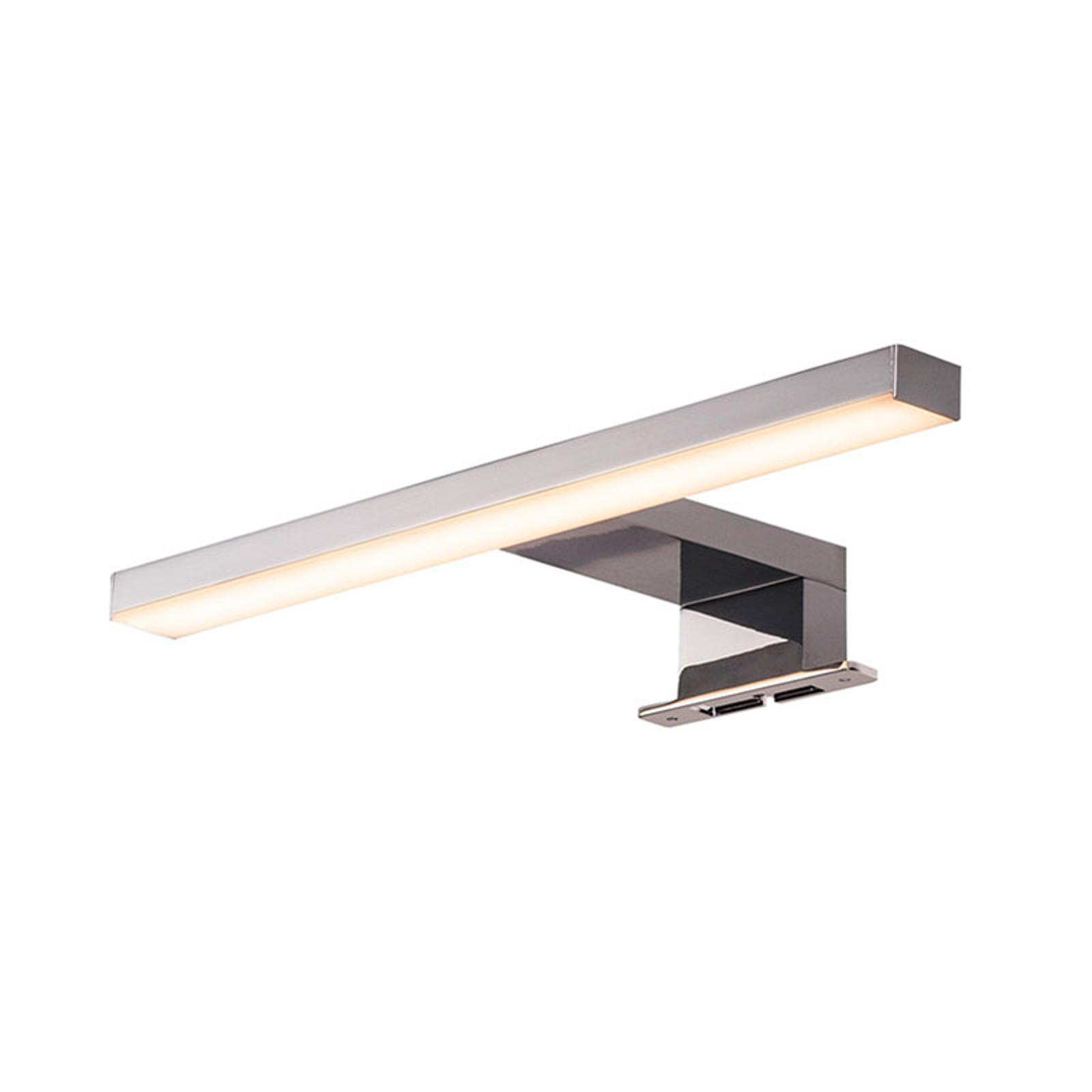 SLV Dorisa applique LED a pinza larga 30cm cromo