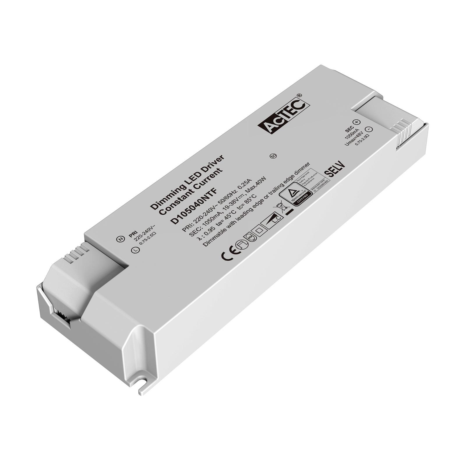AcTEC Triac LED-Treiber CC max. 40W 1.050mA