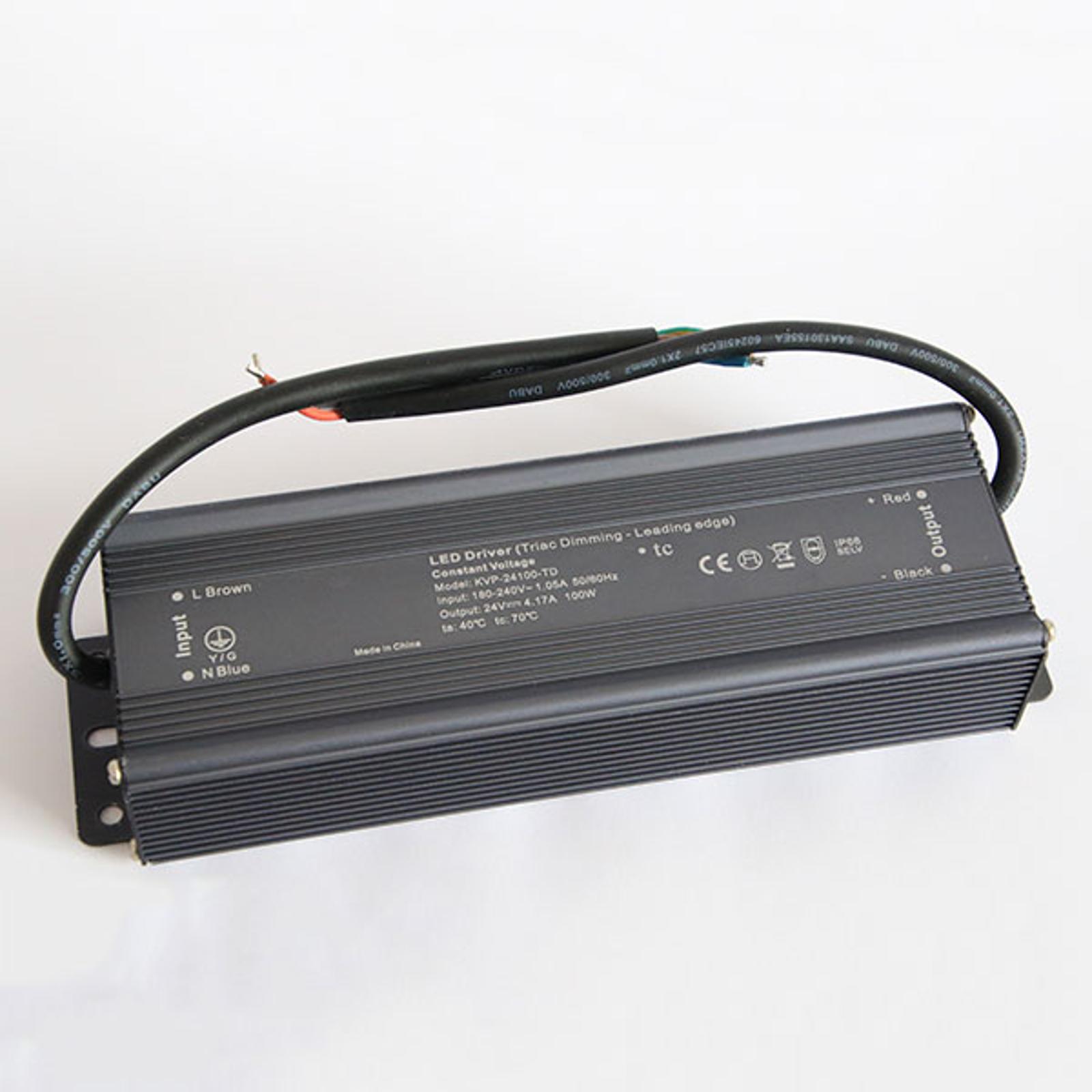 TRIAC nettdel dimbar IP66 LED 360 W