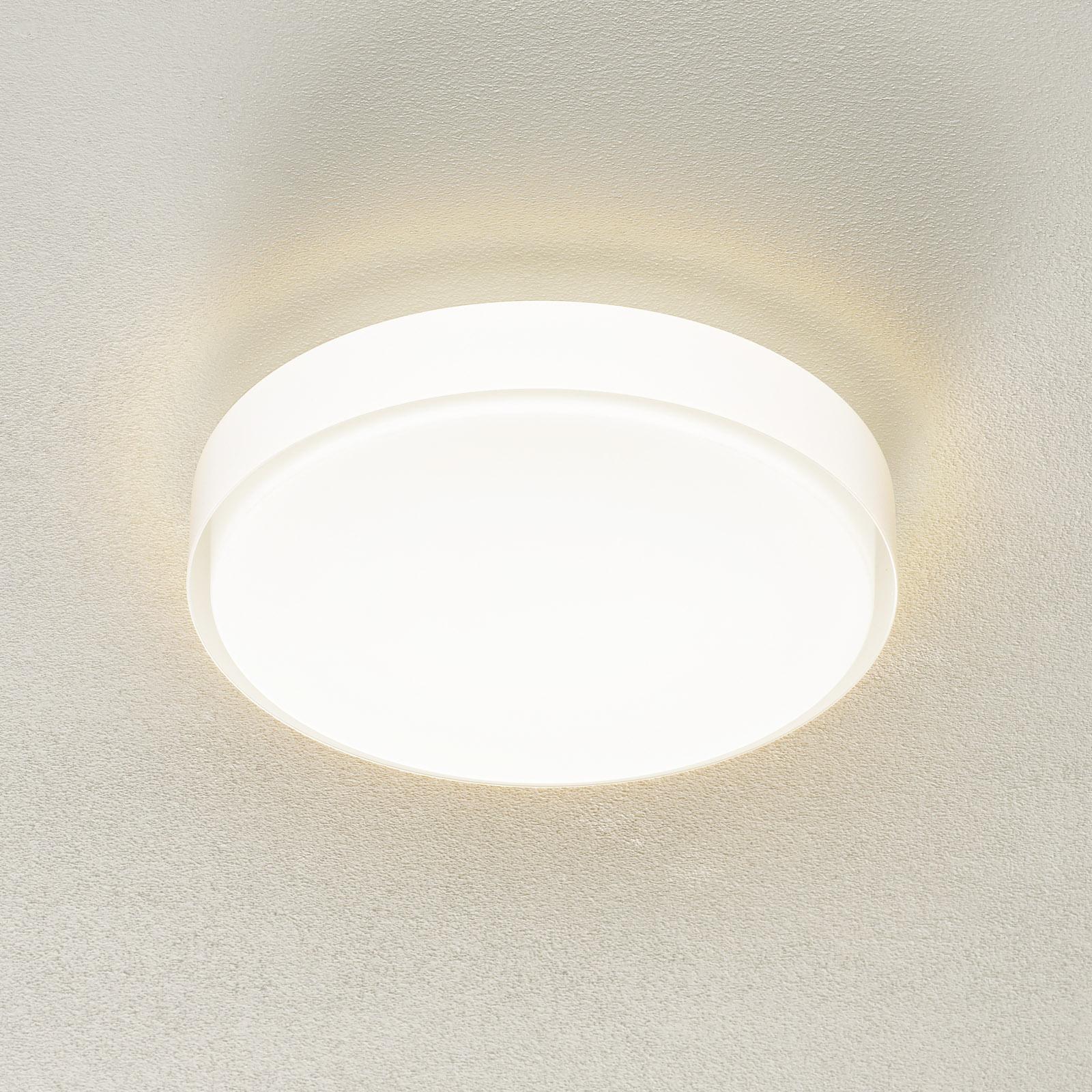 BEGA 34278 LED plafondlamp, wit, Ø 36 cm, DALI