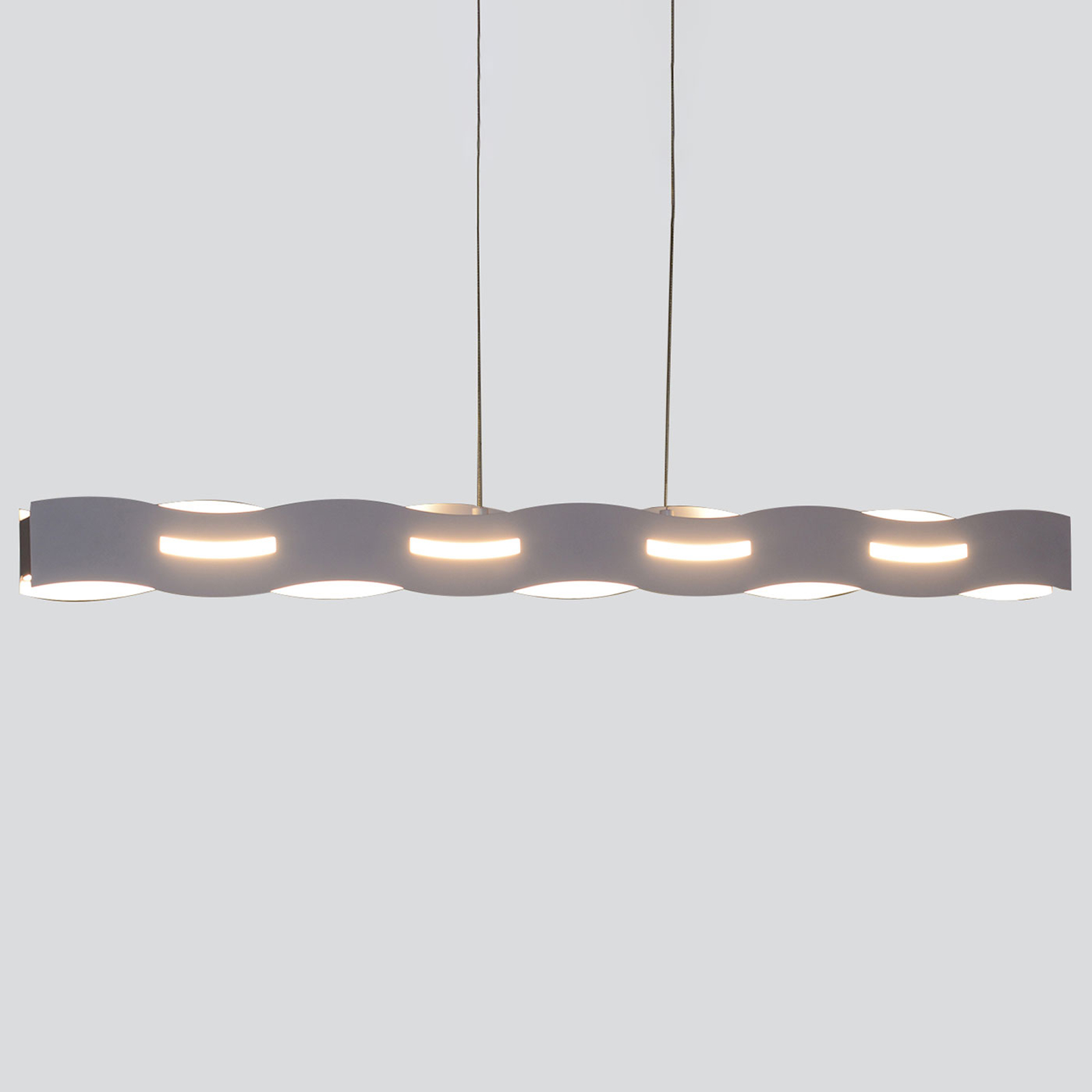 Lampa wisząca LED Wave nikiel
