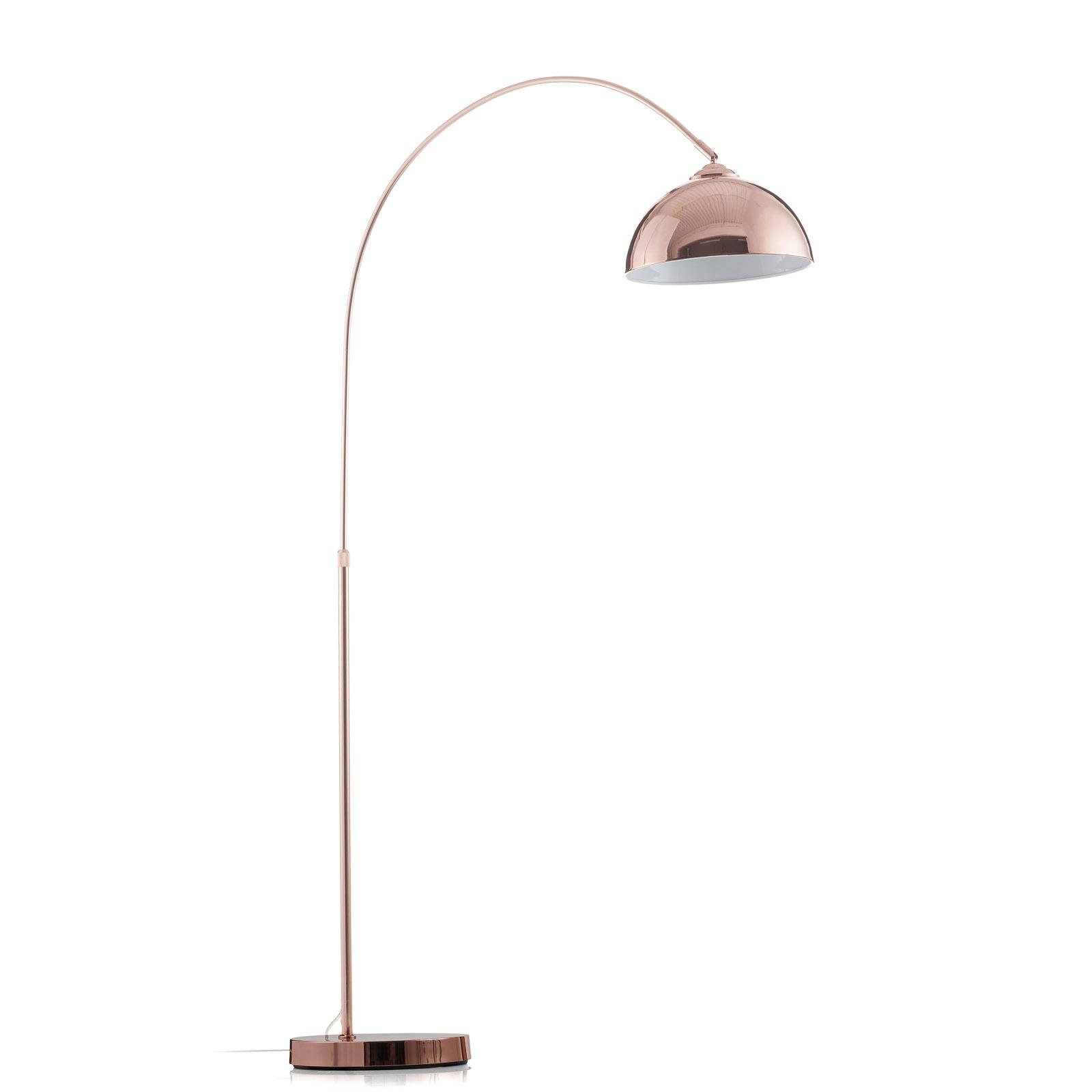 Oblouková stojací lampa Pelin