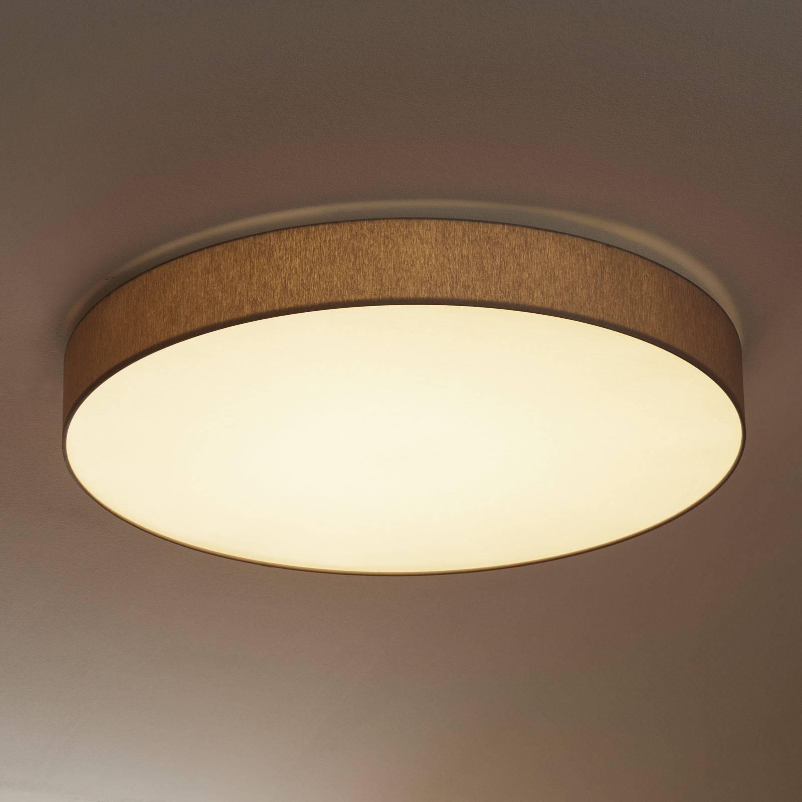 Plafoniera LED rotonda Luno con funzione dimming