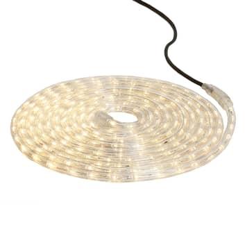 LED-ljusslgang Ropelight Flex 6 m varmvit