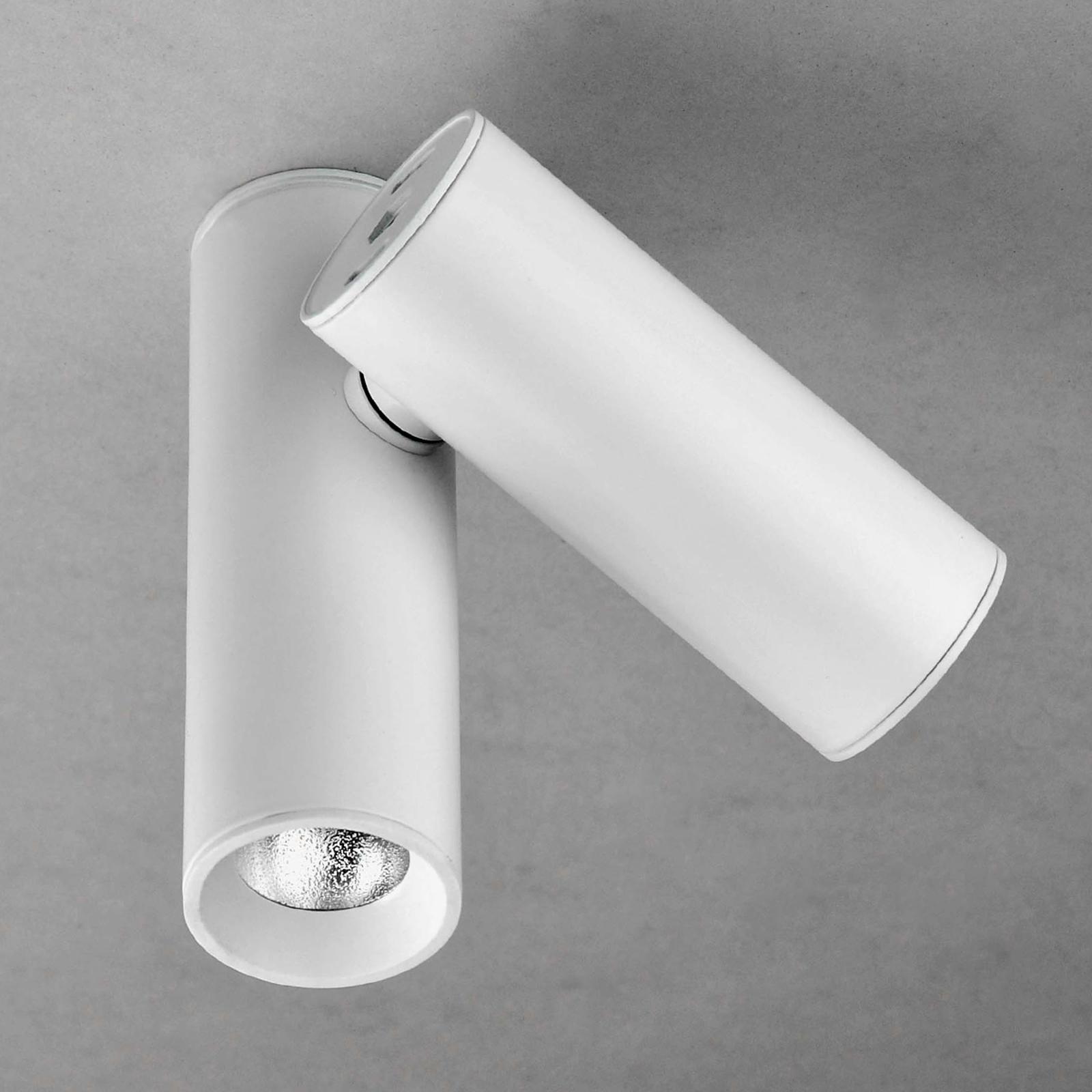 Milan Tub – LED-taklampe, 2 lyskilder, hvit