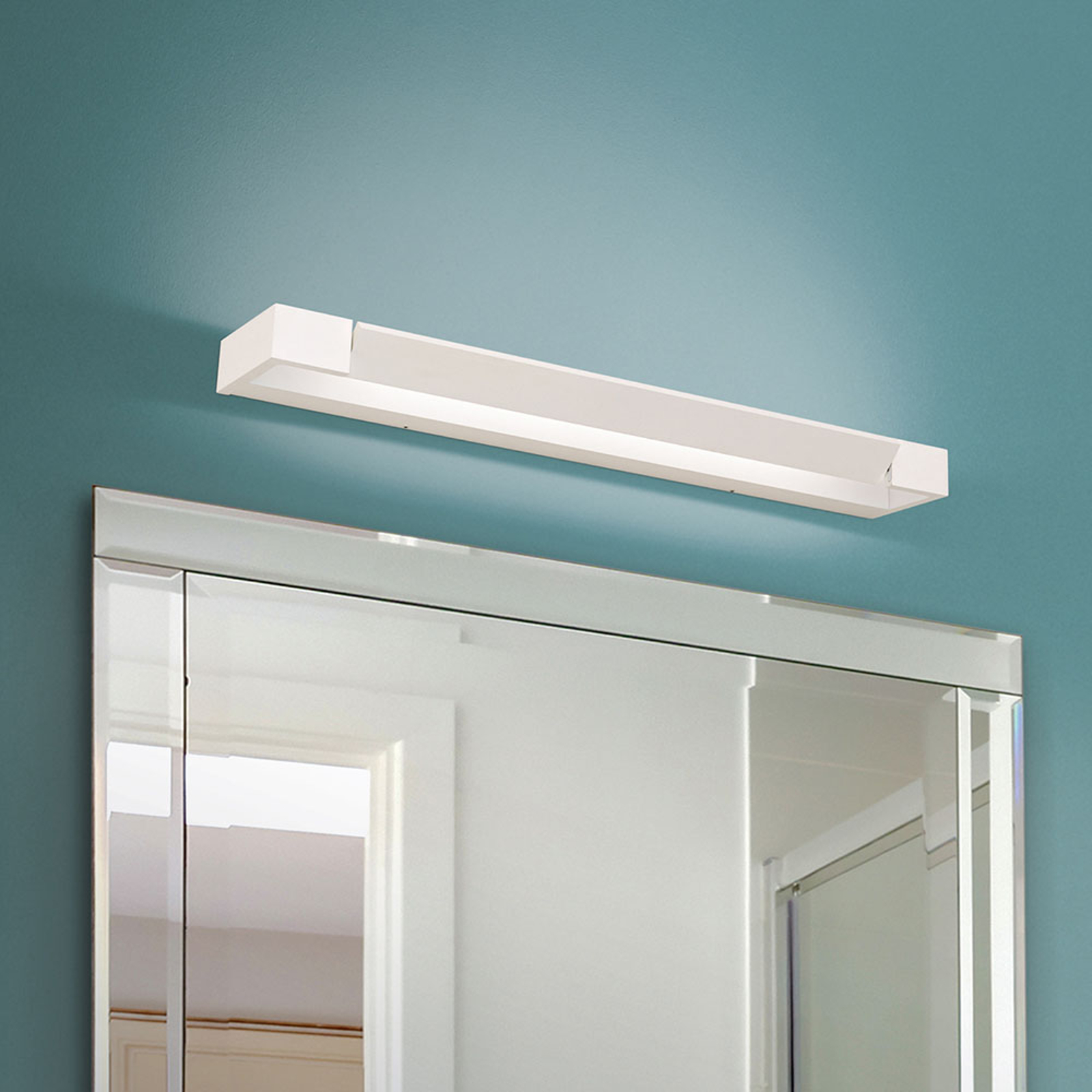 Applique miroir LED Marilyn blanc inclinable 60 cm
