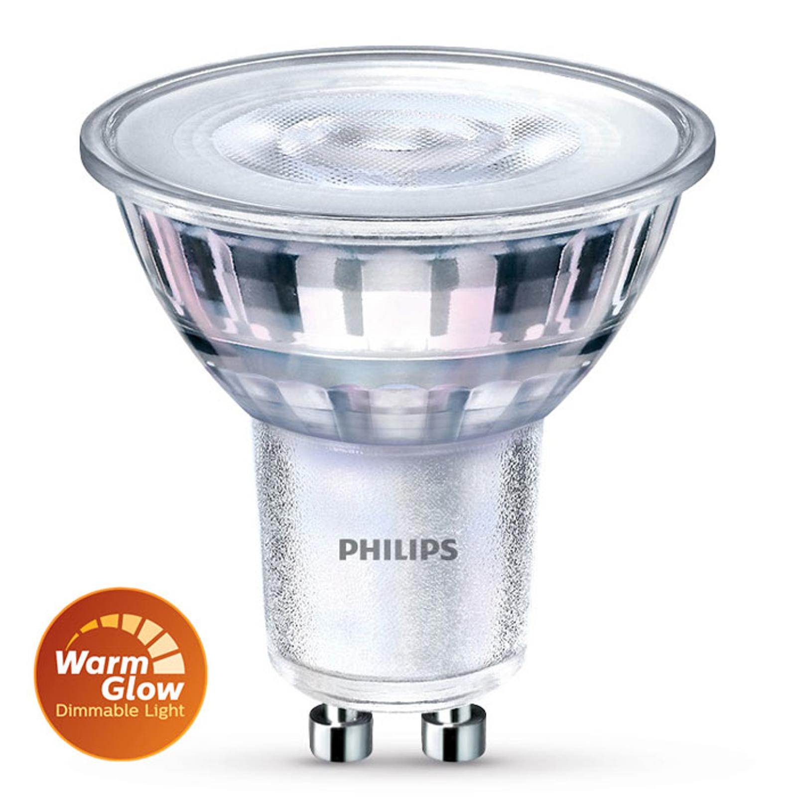 Żarówka reflektorowa LED 36° warmglow GU10 3,8W HV