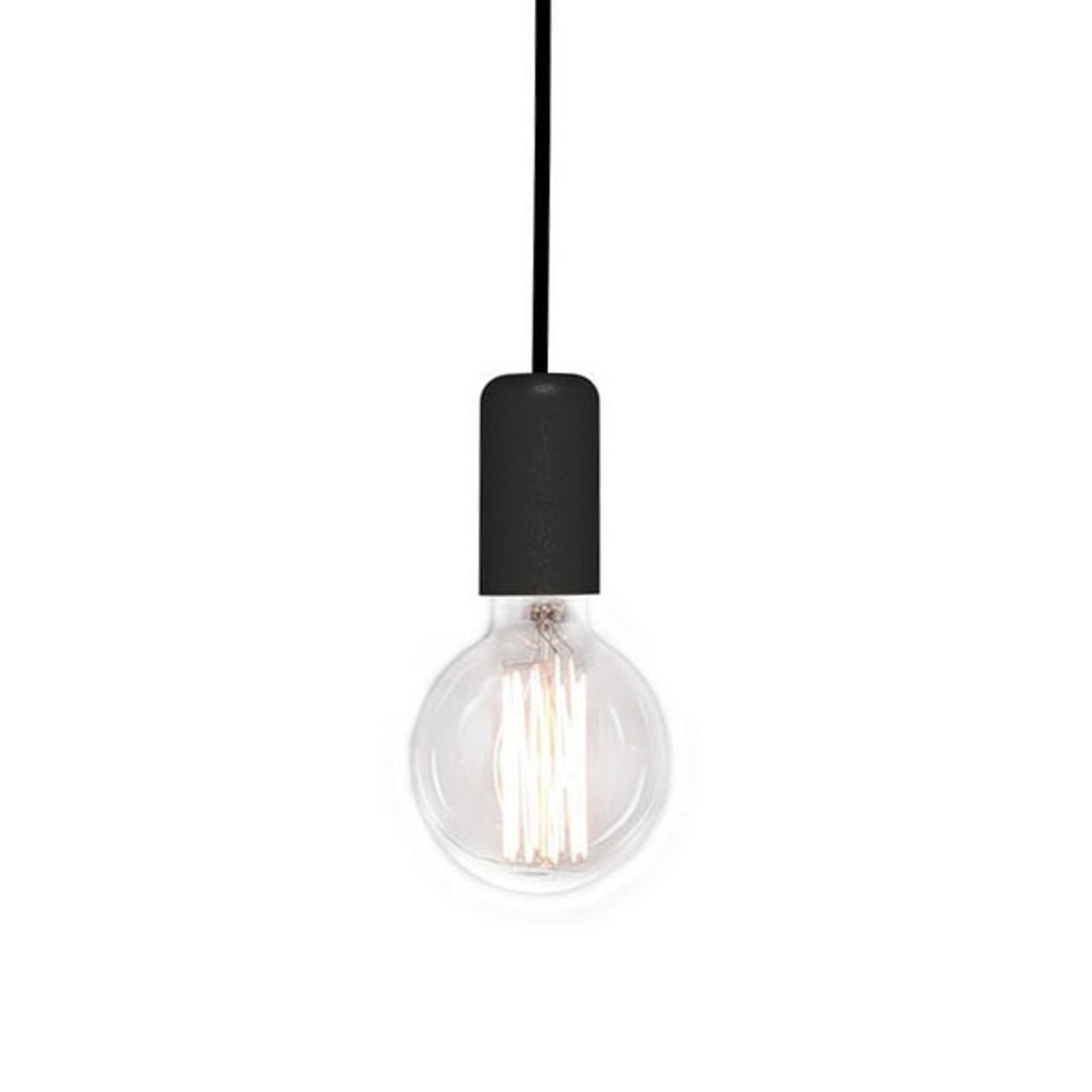 Spider hængelampe, sort, 1 lyskilde