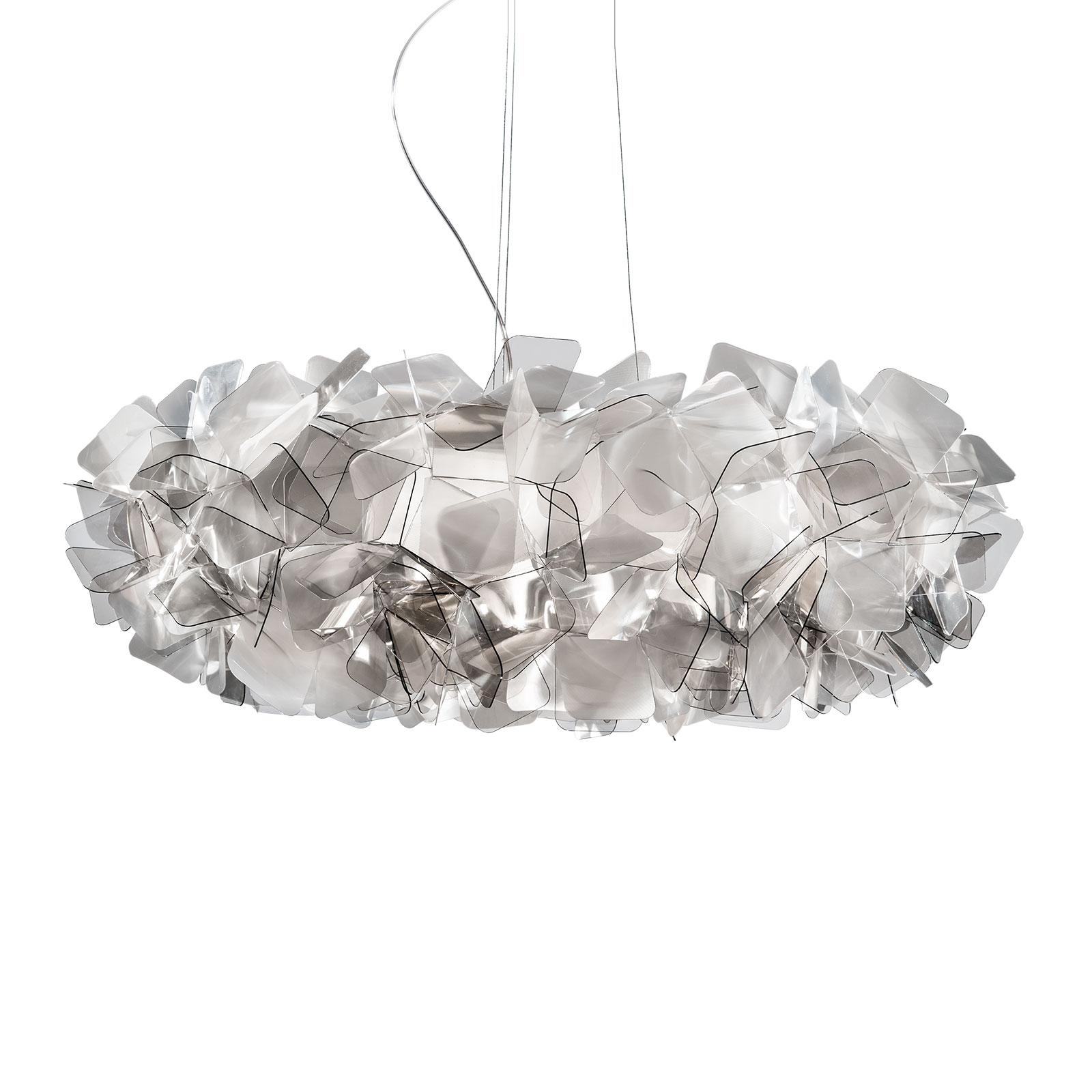 Slamp Clizia lampa wisząca, Ø 78 cm, fumé
