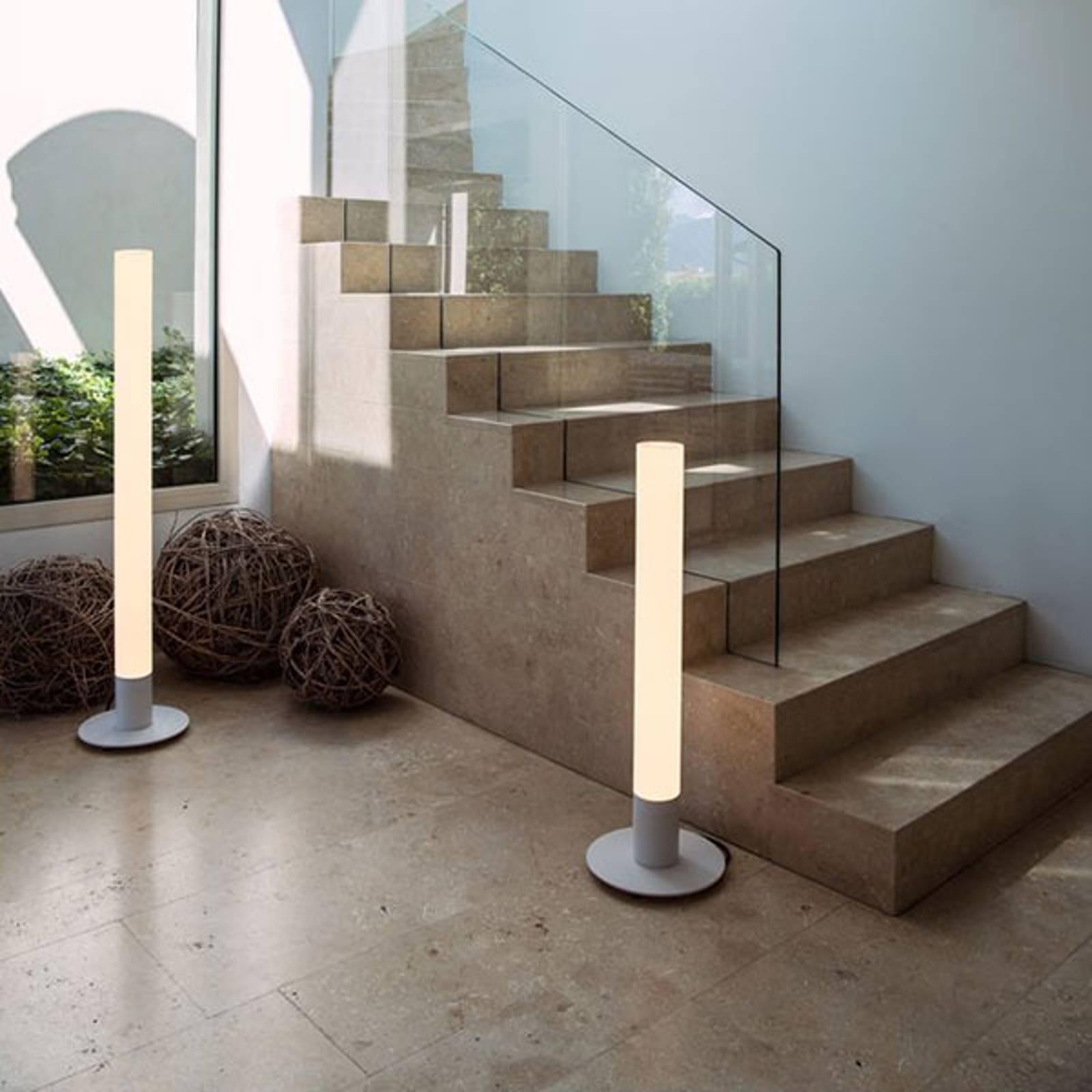 SLV Light Pipe LED vloerlamp dimbaar IP55 90 cm