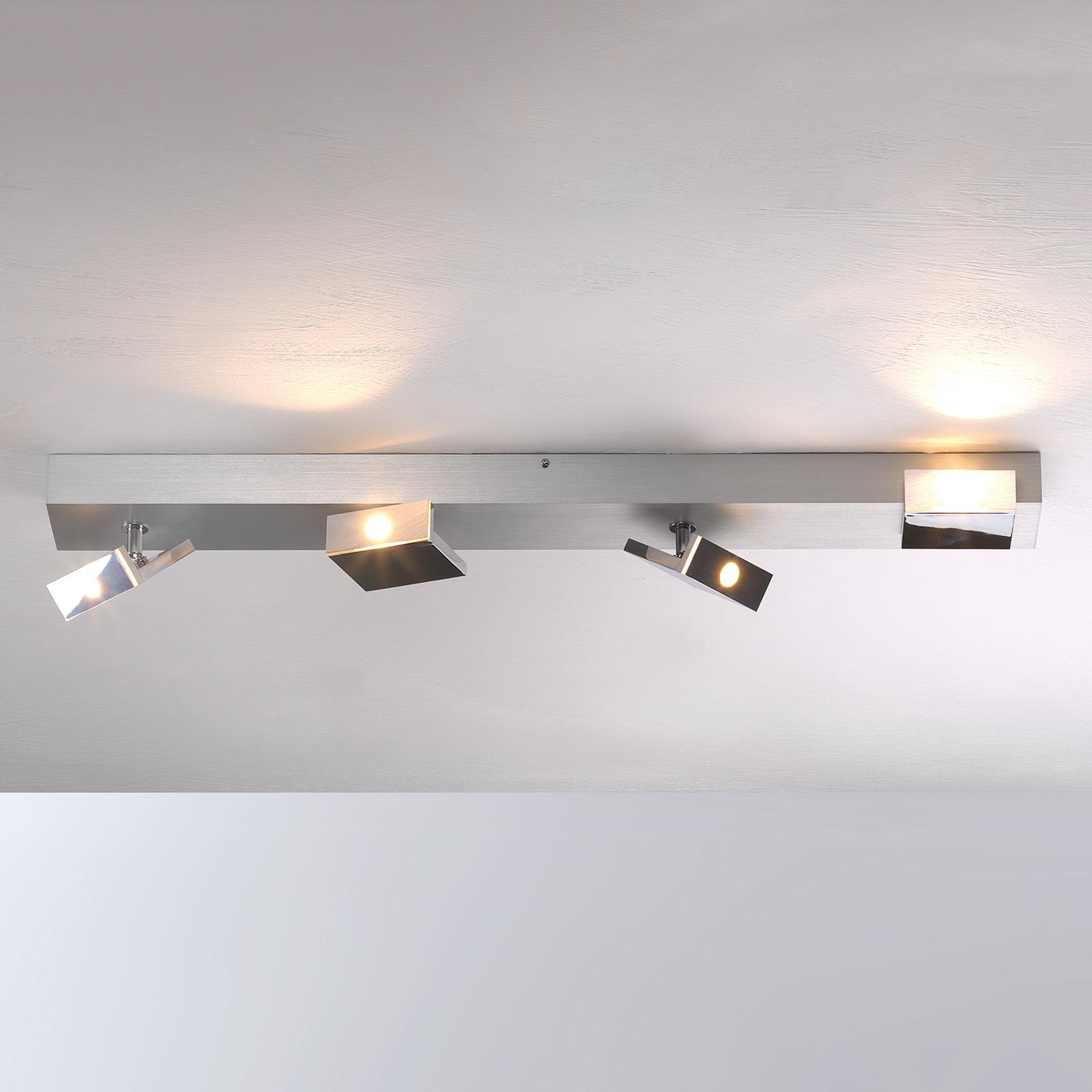 Elle - plafonnier spot LED, 4 lampes, variable