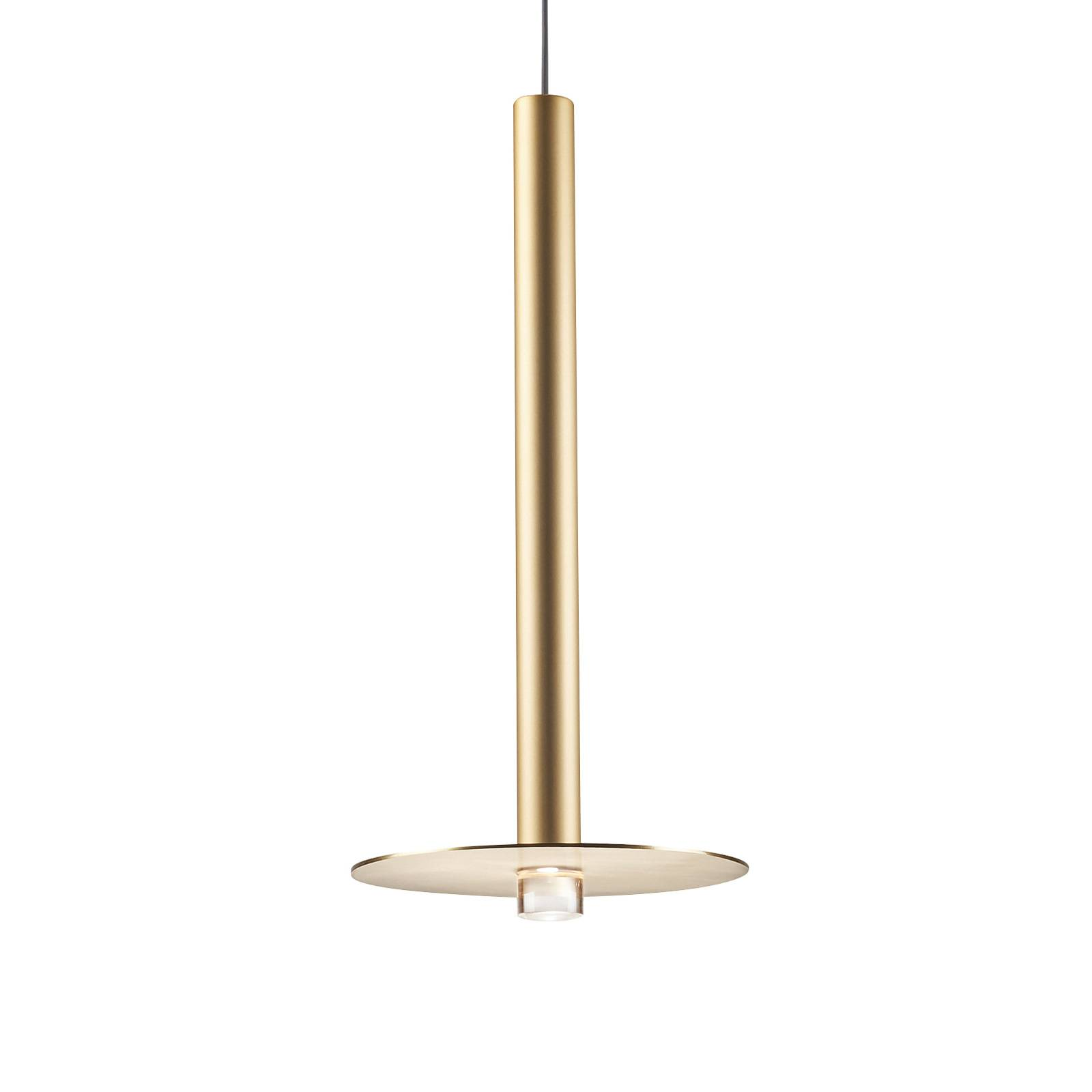 Grok Candle suspension LED 00-6017 dorée satinée