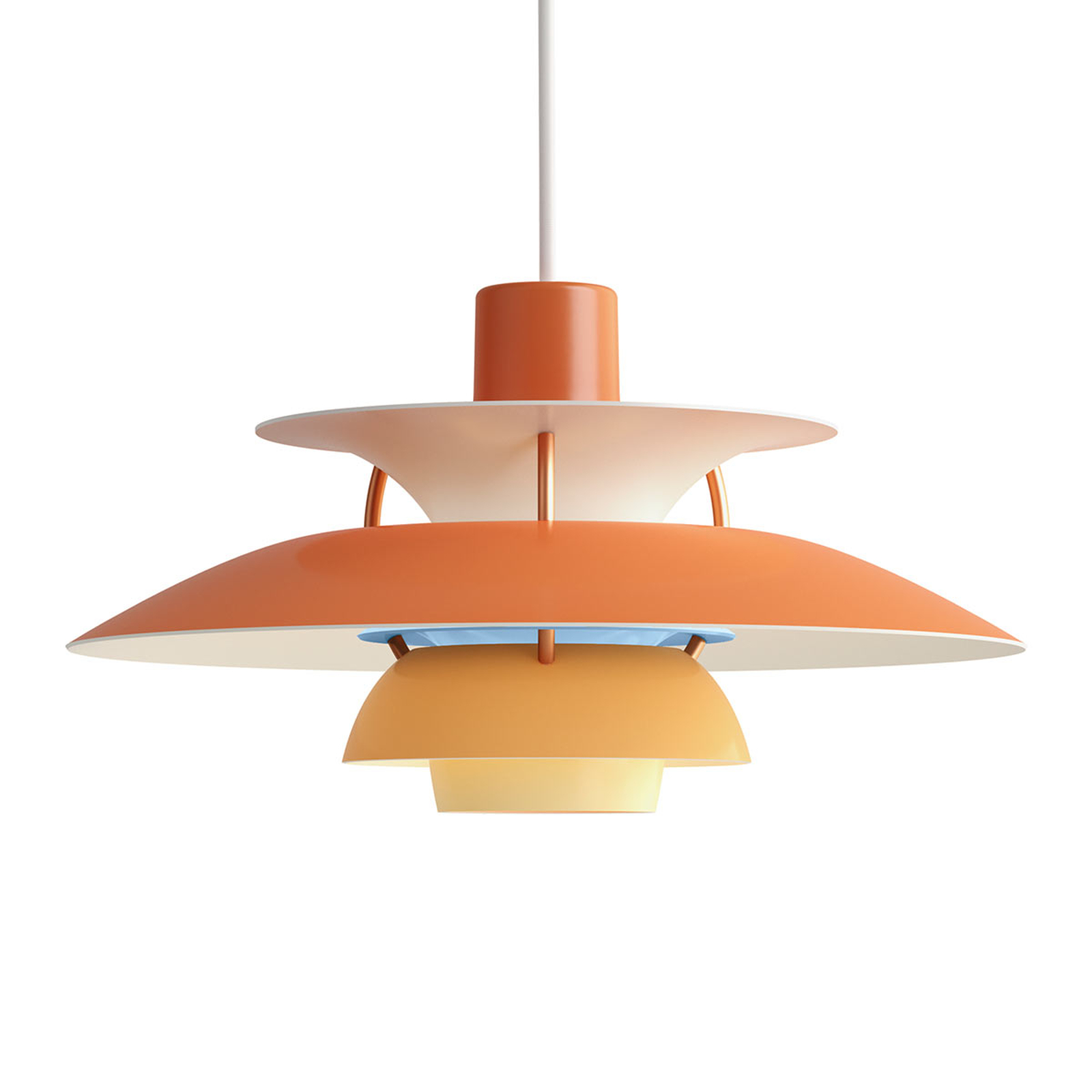 Louis Poulsen PH 5 Mini lampada arancio