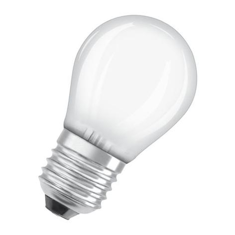 OSRAM Classic P LED-Lampe E27 2,5W 2.700K matt
