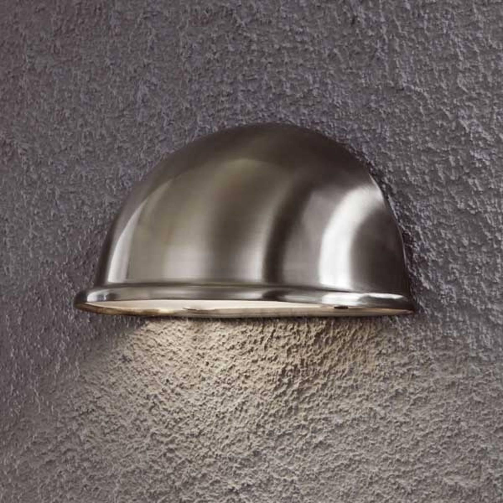 Prachtige buitenwandlamp TORINO E14, rvs