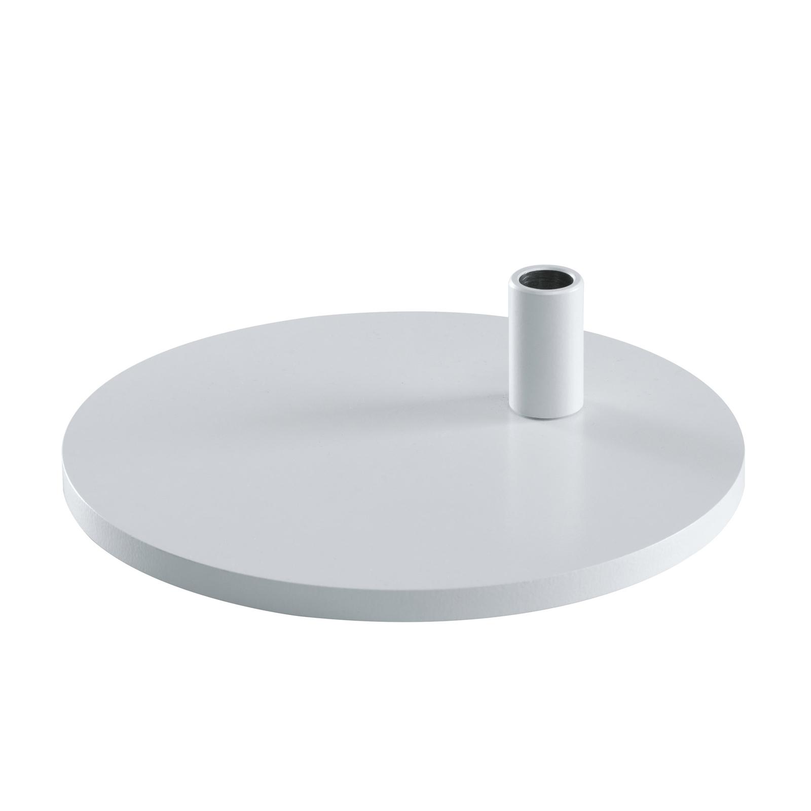 PARA.MI FTL bordfod, rund, hvid