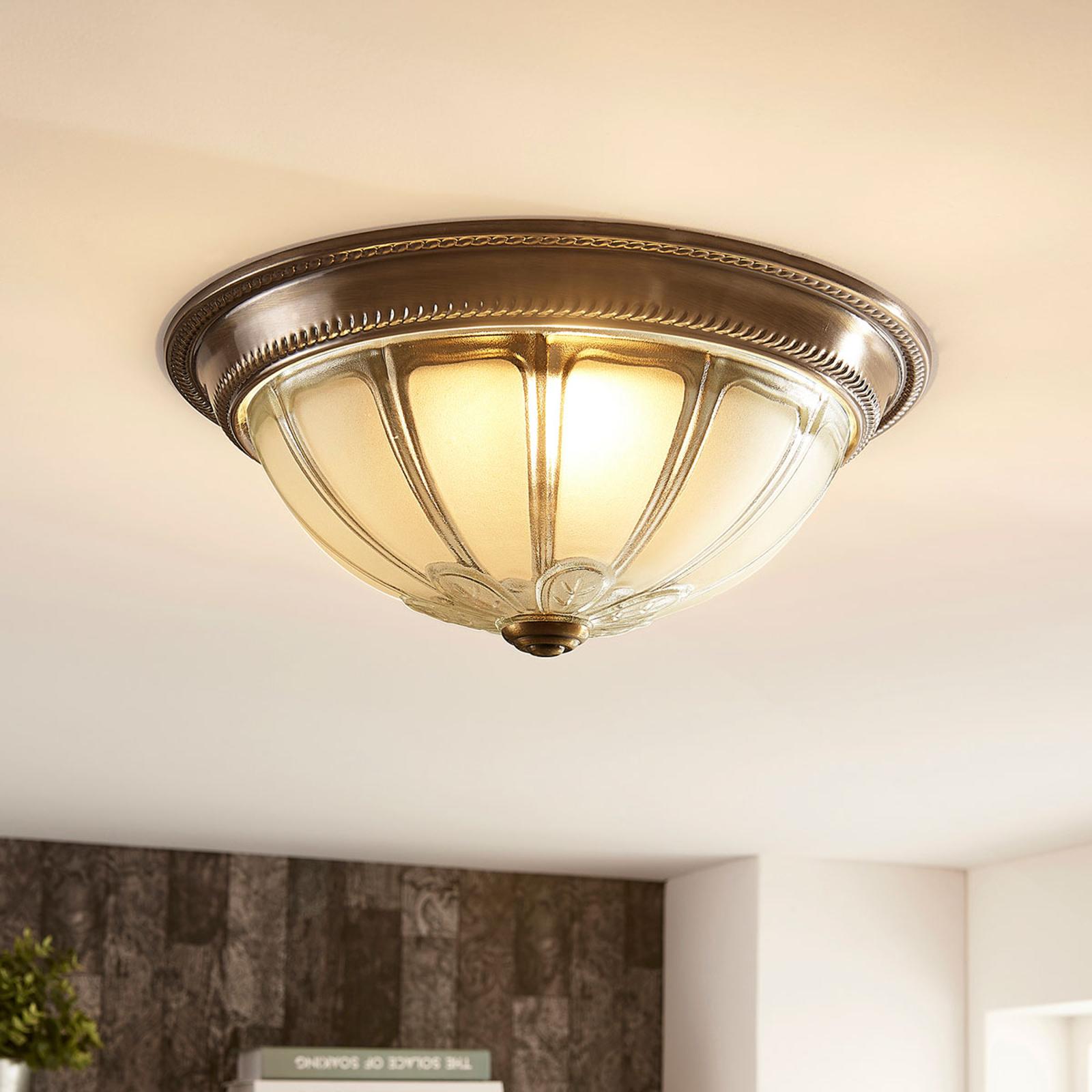 Kulaté stropní LED světlo Henja, stmívatelné