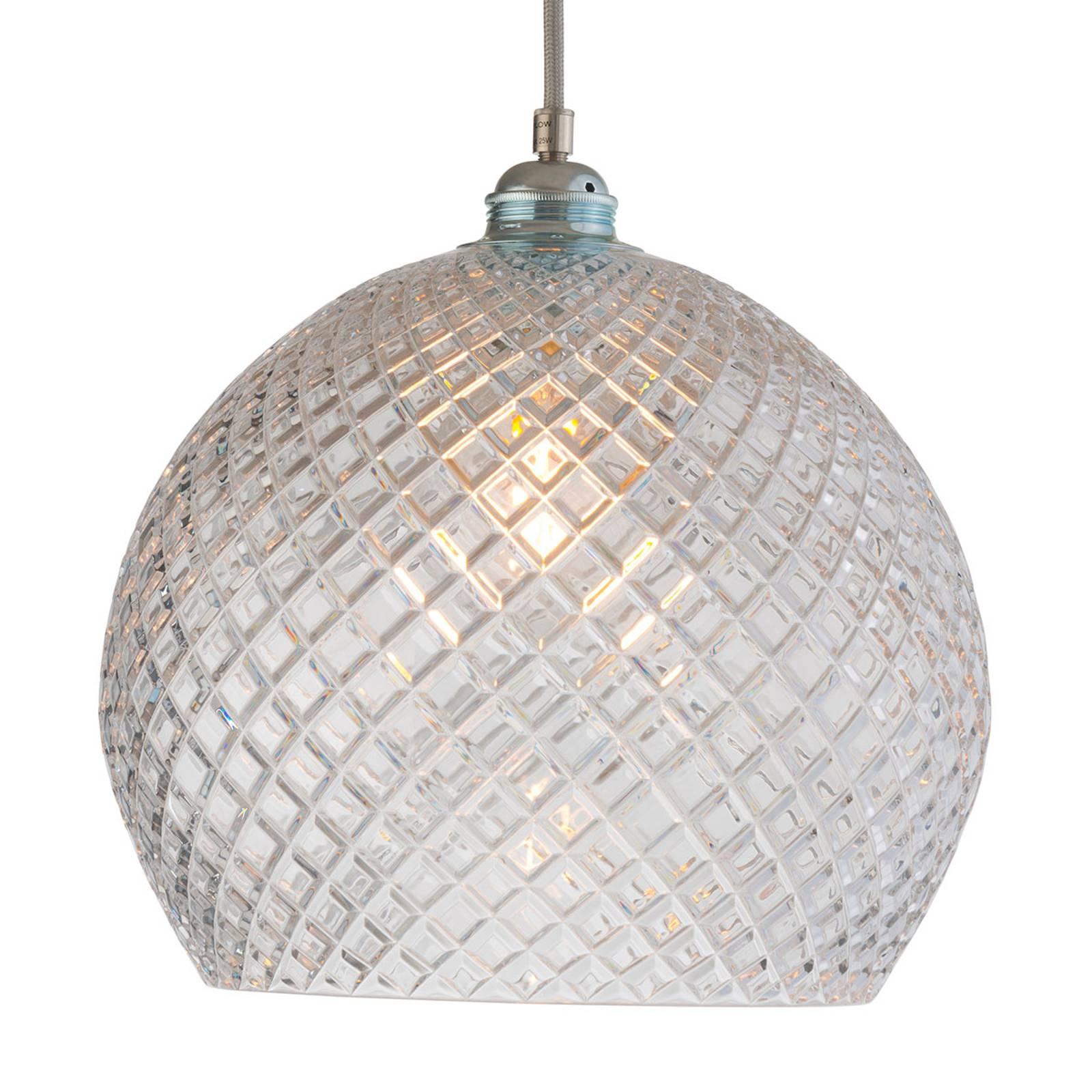 EBB & FLOW Rowan hanglamp, zilver Ø 28cm