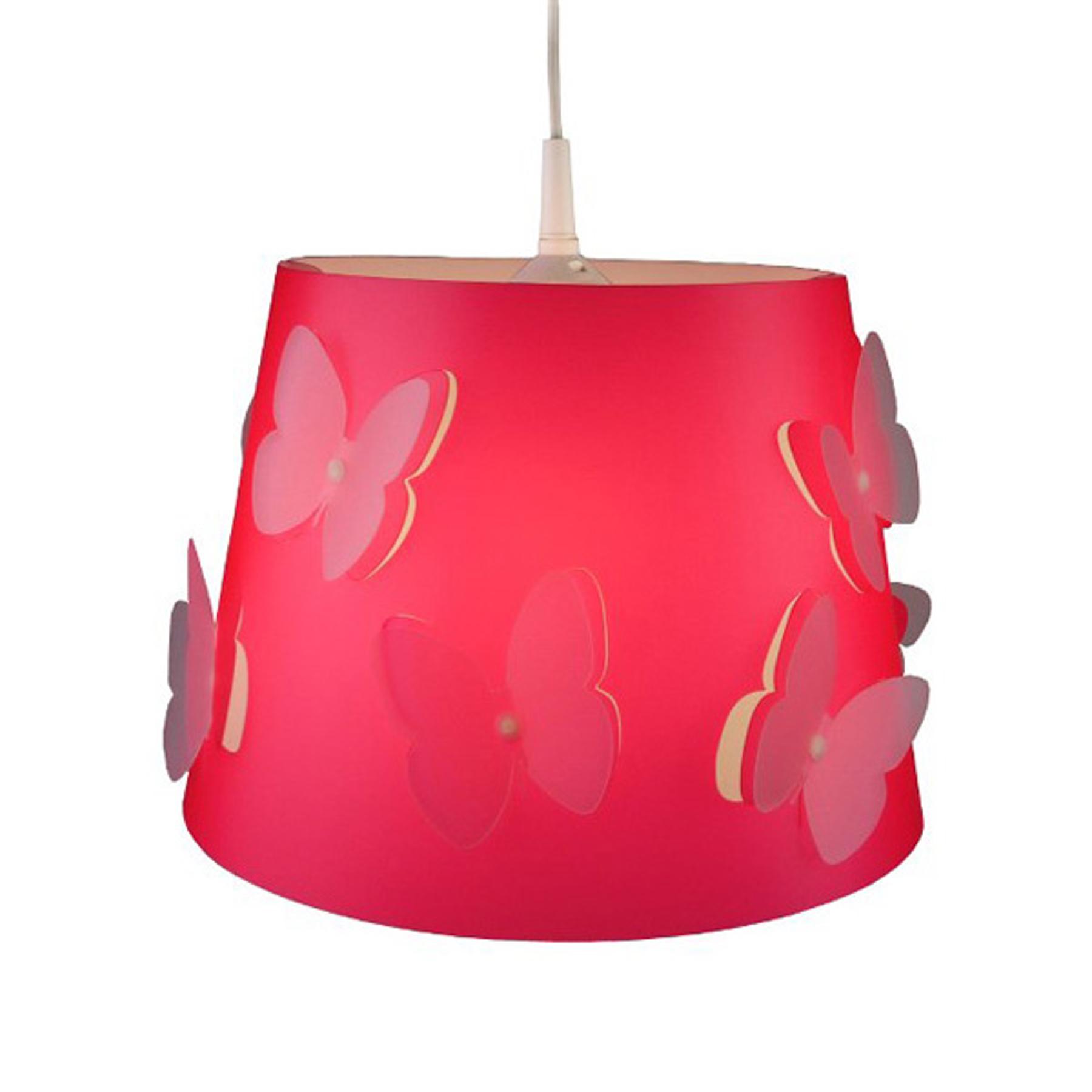 Kolorowa lampa wisząca Rosalie