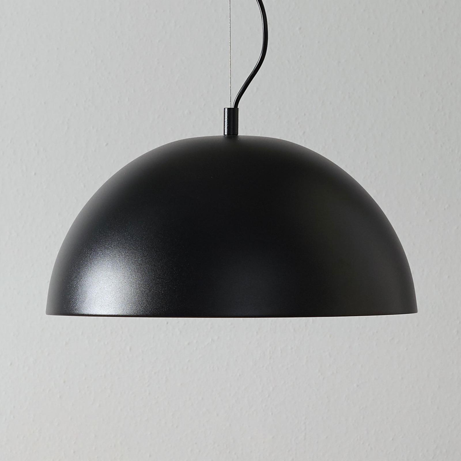 Lucande Phelan suspension 40cm noire-dorée