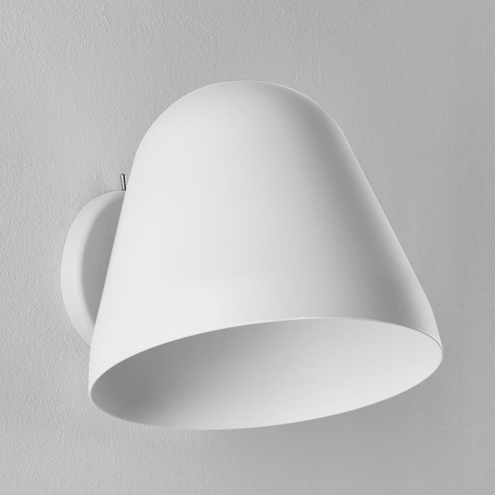 Nyta Tilt Wall Short applique, blanche