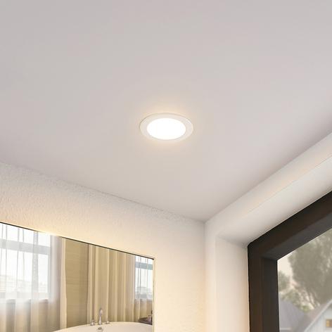 Lámpara empotrada LED Piet redonda, 8,5 W