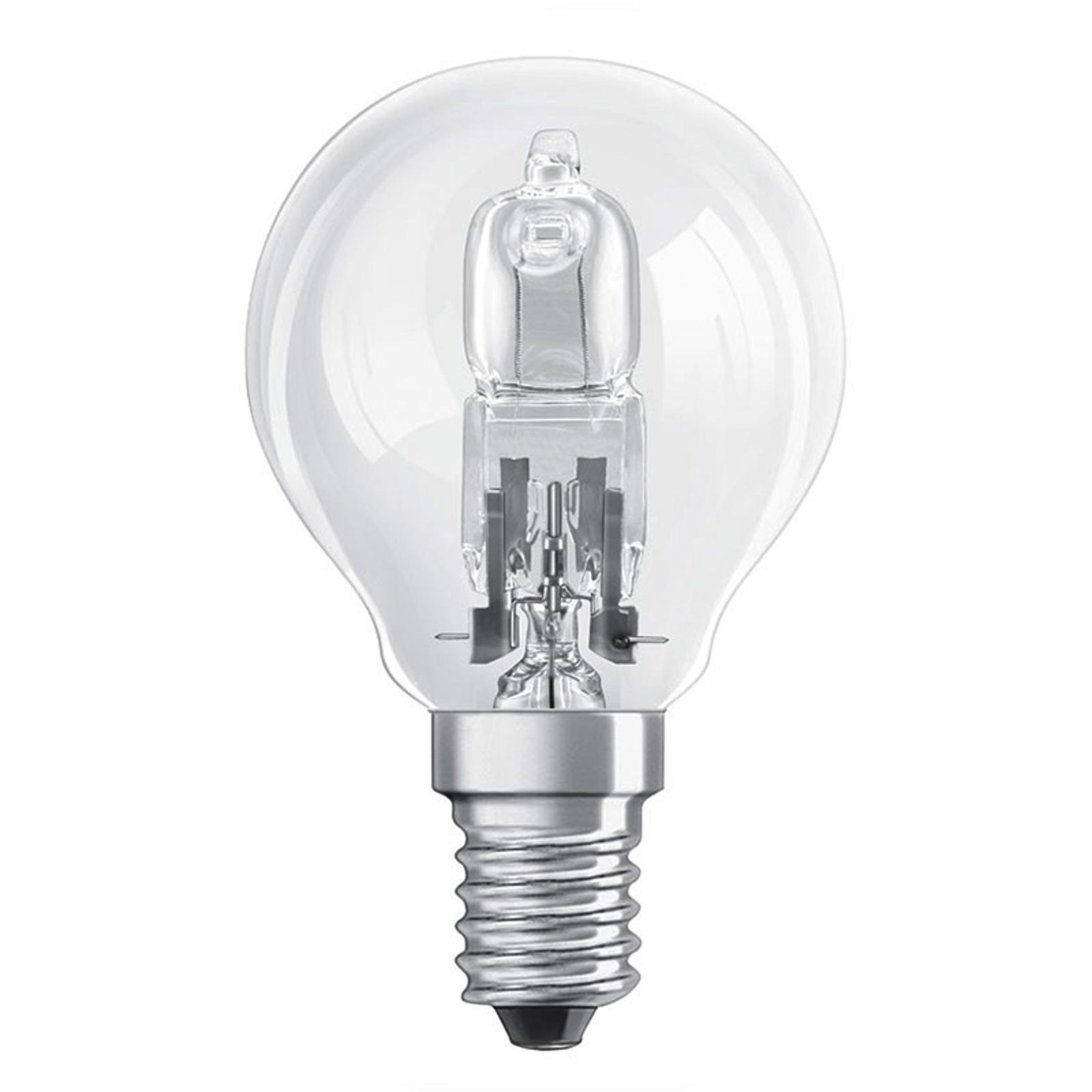 E14 30W Tropfenlampe Halogen CLASSIC P