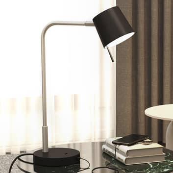 Astro Miura Desk USB-LED-pöytälamppu nikkeli/musta