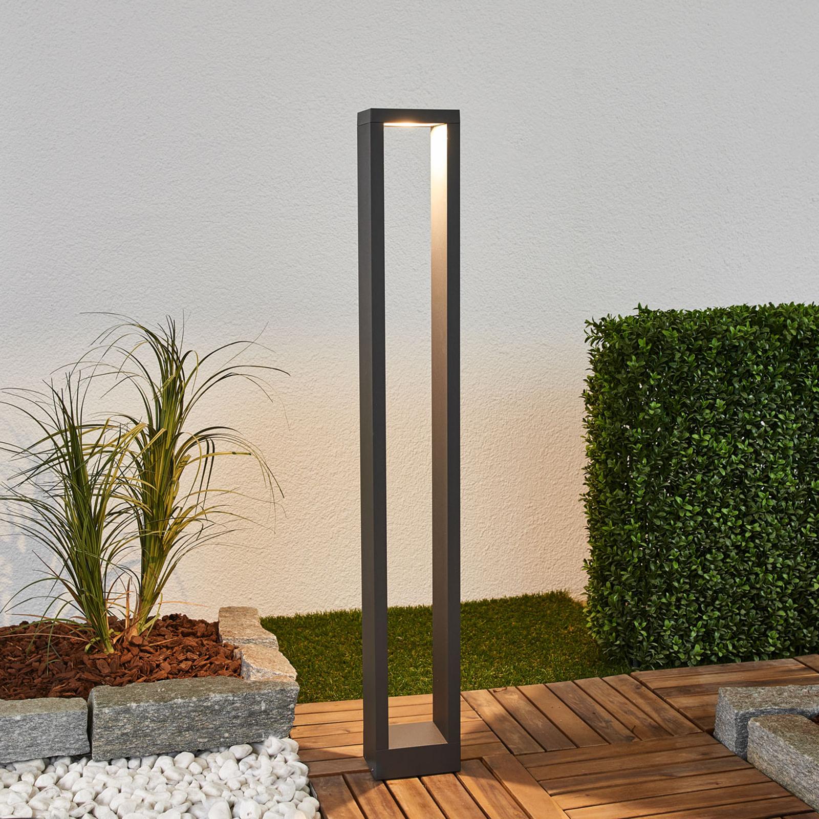 Kulmikas LED-pylväsvalaisin Jupp, 90 cm